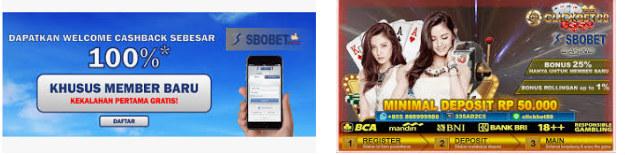 Bonus saat melakukan login sbobet mobile