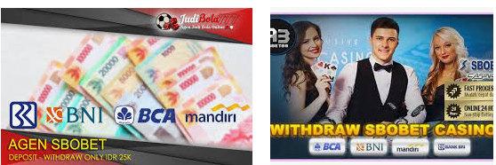 Bonus saat withdraw akun sbobet
