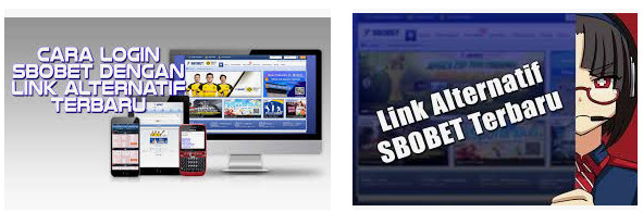 Cara login dari limk alternatif sbobet