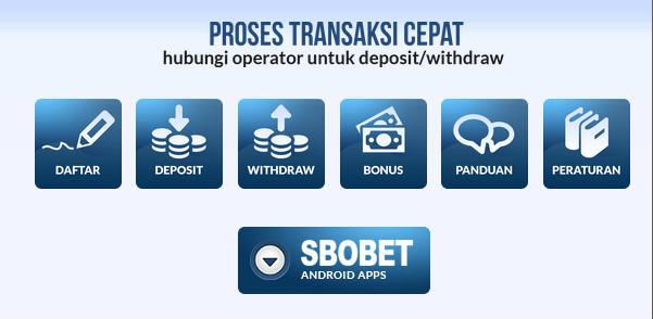 Urutan yang benar saat withdraw sbobet